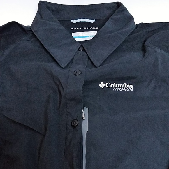 8e11902feb0 Columbia Tops | Titanium Featherweight Hiking Omni Shirt | Poshmark
